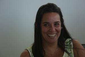 Karem Sangarten, director of finance for Hola Hillel (Photo by Jessica Koernig)