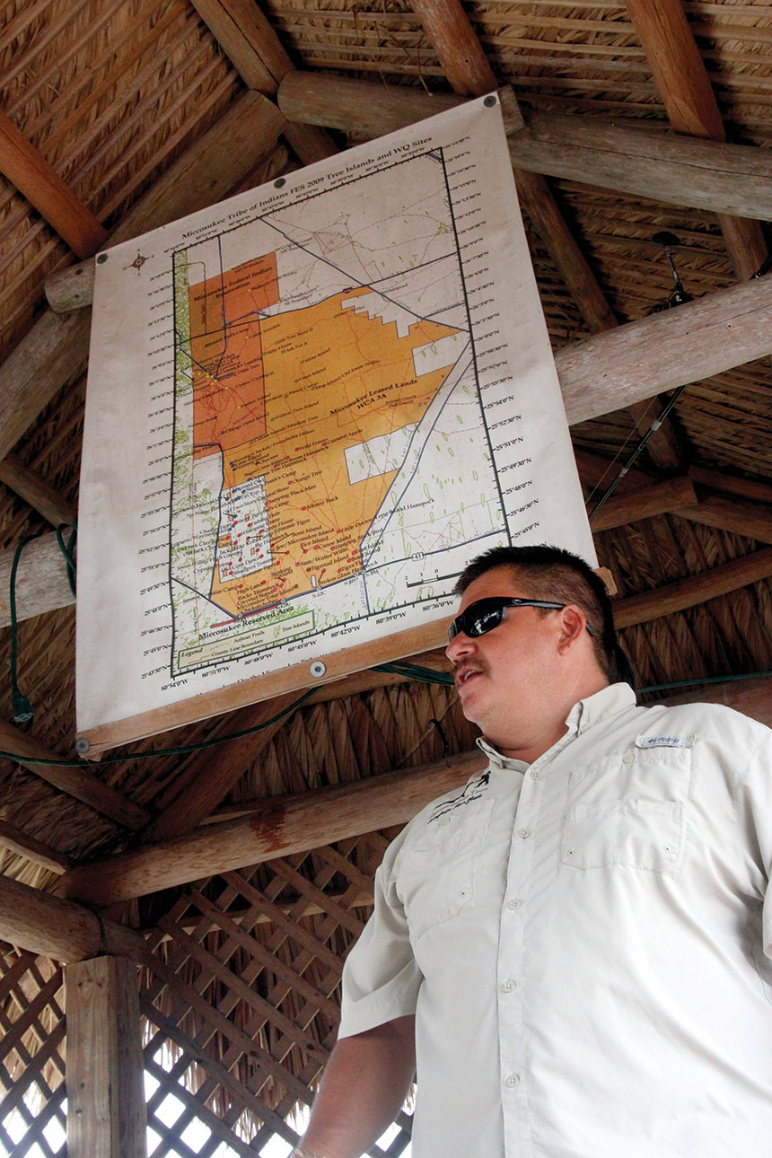 John Tigertail, owner of Tigertails Airboat Tours, says the future is bright for the Miccosukee tribe, one of the smallest indigenous populations in the United States.